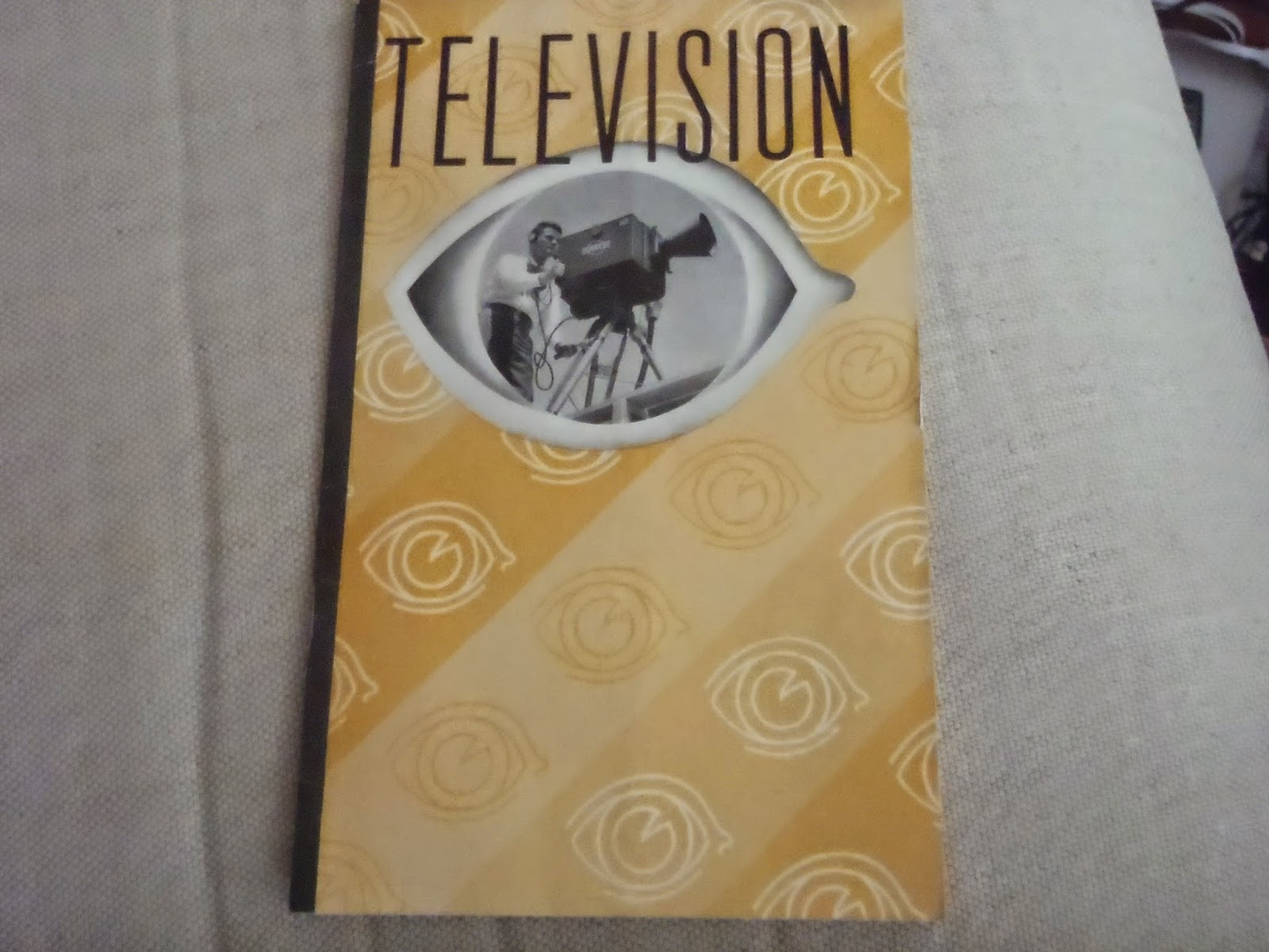 At 30 Rock In Conjunction With The 1939 Worlds Fair Notice NBCs Use Of An Eye On Cover Which Course Later Became A Symbol Associated CBS