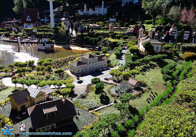Miniaturas do Mini Mundo - Gramado