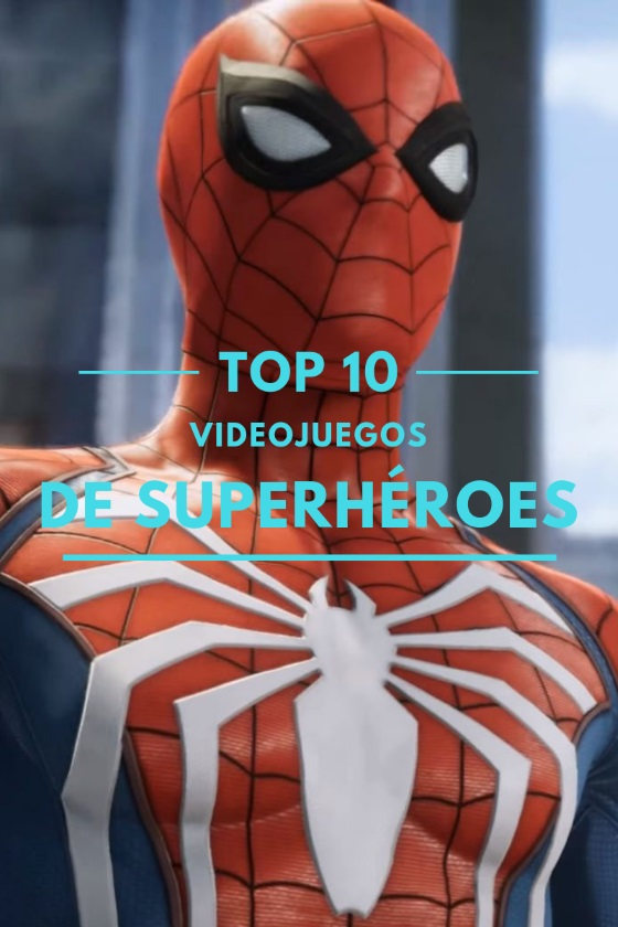 Los 10 Mejores Videojuegos de Superhéroes de la Historia