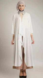 Model baju muslim modis untuk ibu hamil