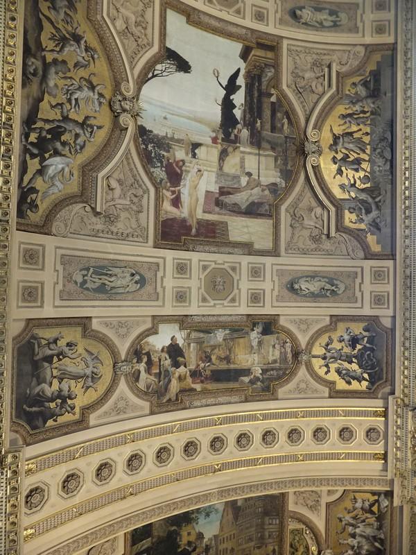 Vienne Vienna Wien Burgtheater theatre visite escalier honneur gustav klimt