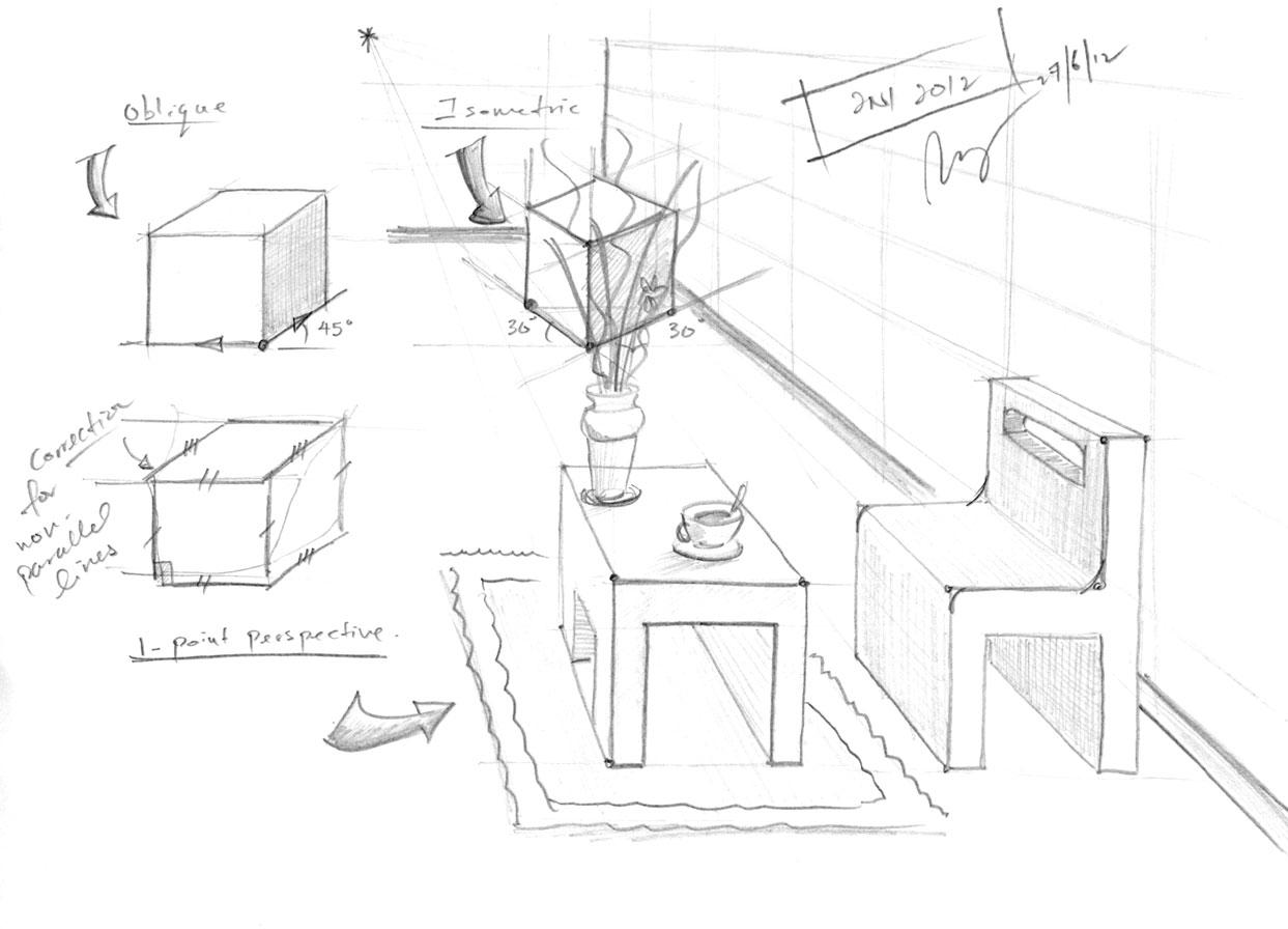 L1 External Paraline Drawings