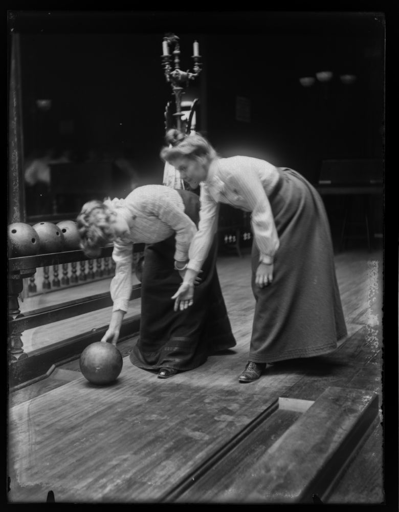 Victorian Women Bowling Circa 1900 Vintage Everyday