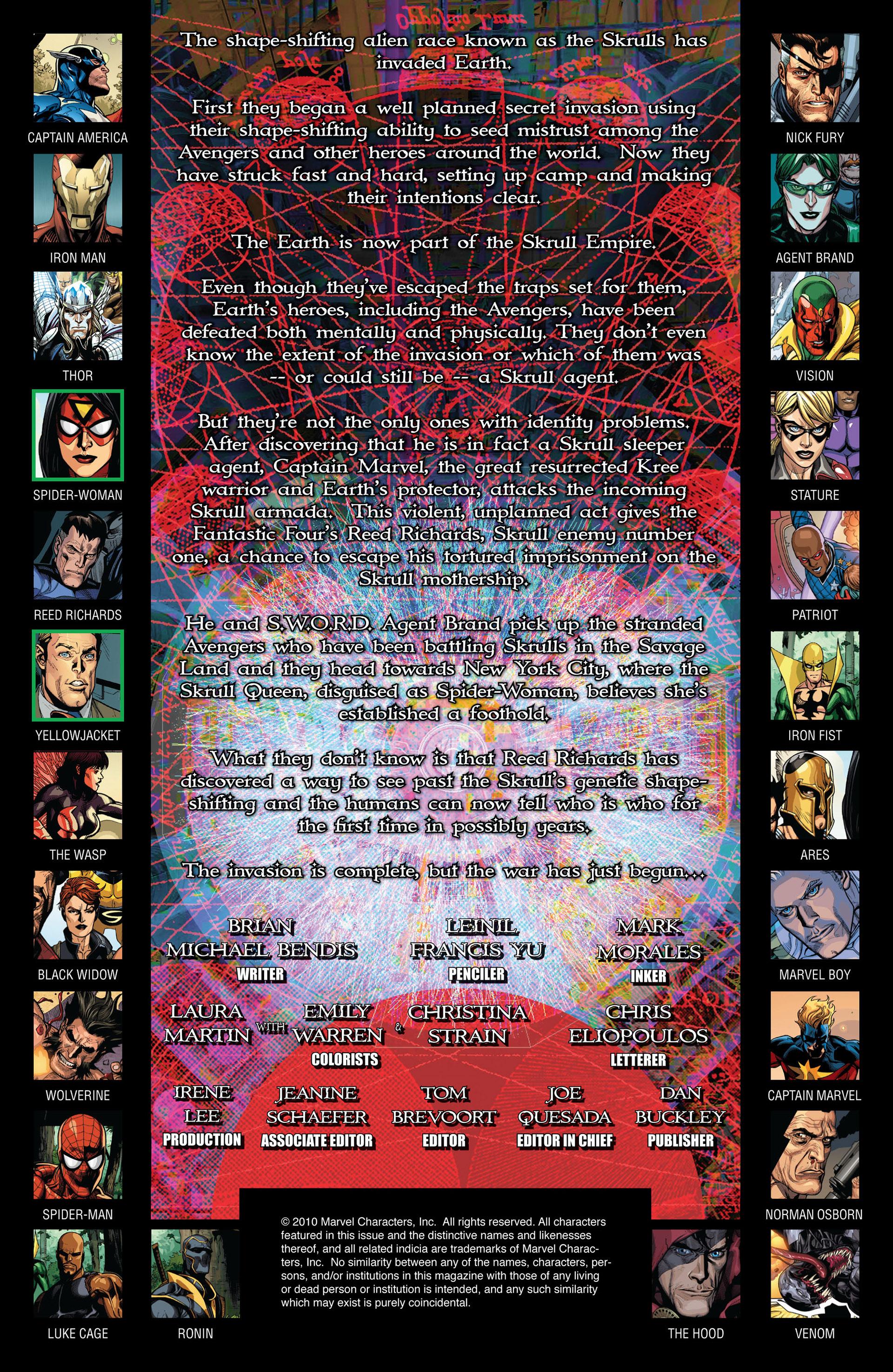 Read online Secret Invasion comic -  Issue #6 - 2