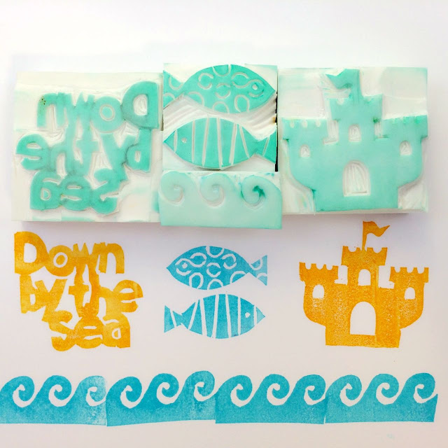 Carving Your Own Rubber Stamps