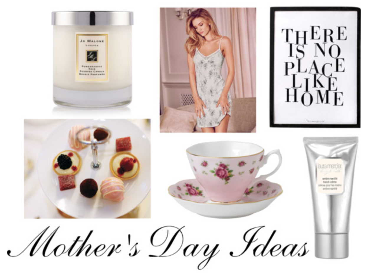 mother's day mother mum collage polyvore gift ideas gif guide jo malone pomegranate noir candle rosie for autograph rose huntington whiteley marks and spencer m&s pyjamas summer SS15 laura mercier ambre vanilla hand cream space nk wedgewood teacup saucer set selfridges marriott spa afternoon tea muji insp inspiration instagram beauty bblogger lifestyle lbloggers present presents blog blogger