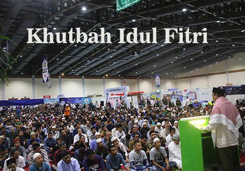 Kumpulan Materi Khutbah Hari Raya Idul Fitri Singkat Terbaru 2018 1439 H