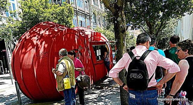 Bilheteria da Livraria Lello & Irmão, Porto, Portugal