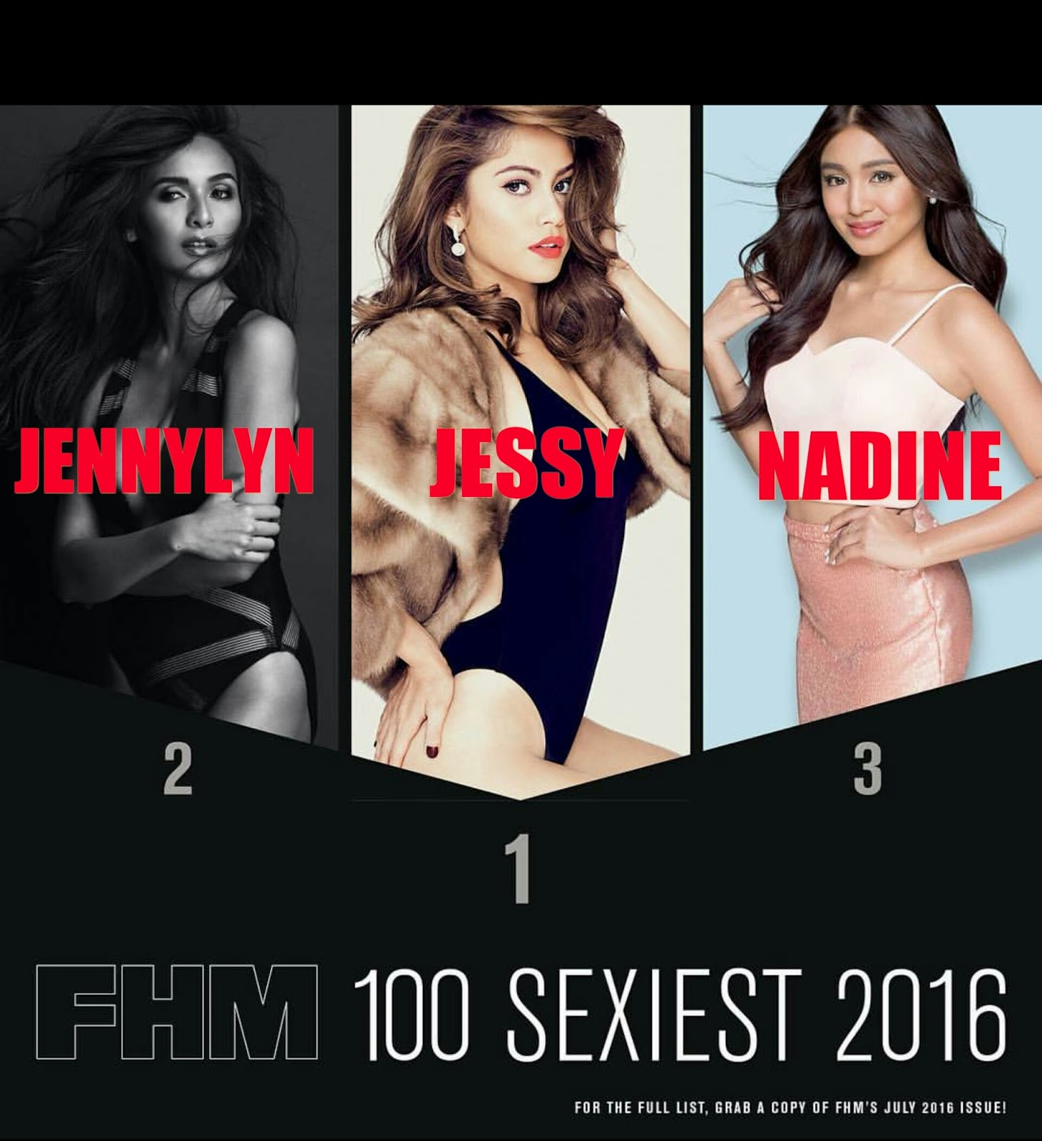 FHM Philippines 100 Sexiest Women 2016