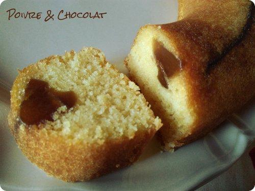 Gâteau à la farine de maïs Ti-son et papaye confite