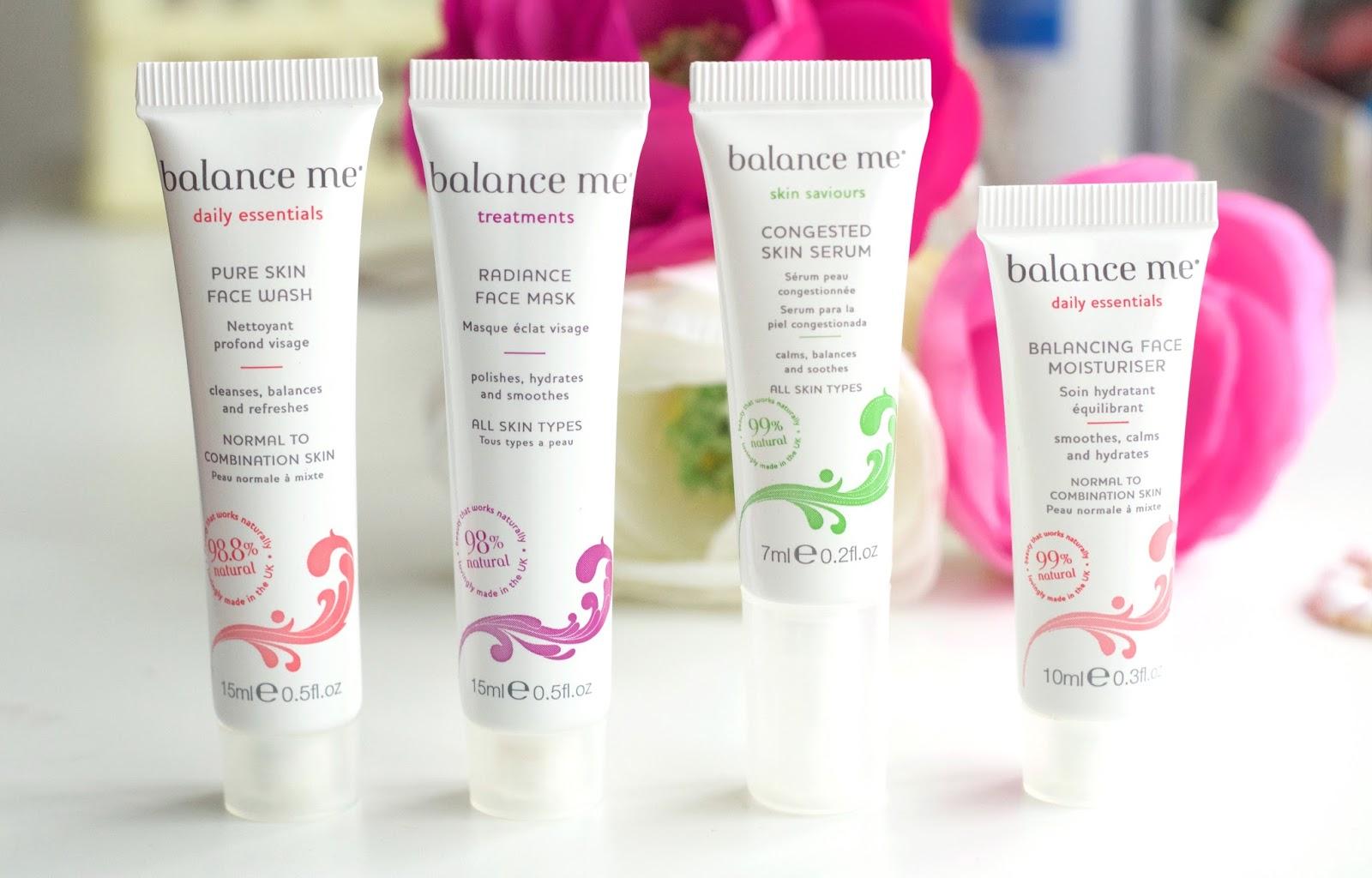 My Opinion On Balance Me Skincare