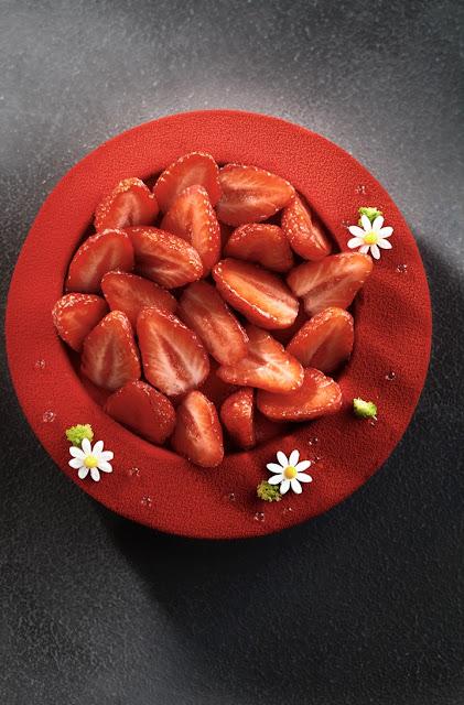 """Recette De Fraisier De Cyril Lignac c'est ma fournée ! : le fraisier de benoit couvrand (""""la pâtisserie"""