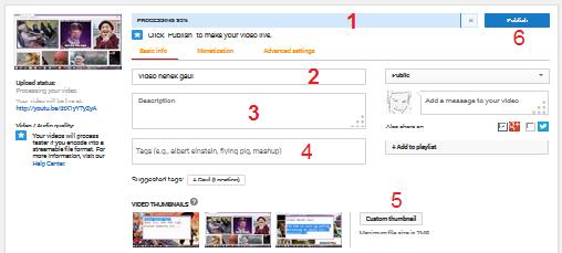Tutorial Cara Upload Video Ke Youtube Anaksmanda Com