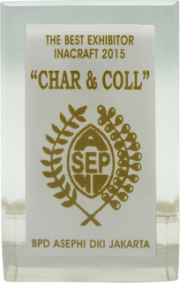 The Best Exibitor Inacraft 2015 saat paeran Inacraft 2015