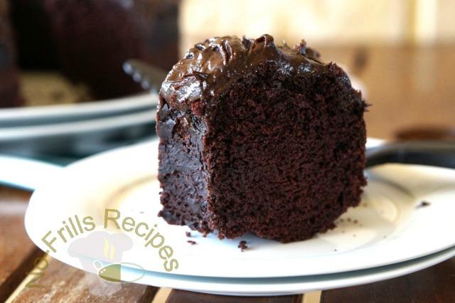 Avocado Chocolate Cake 鳄梨巧克力蛋糕