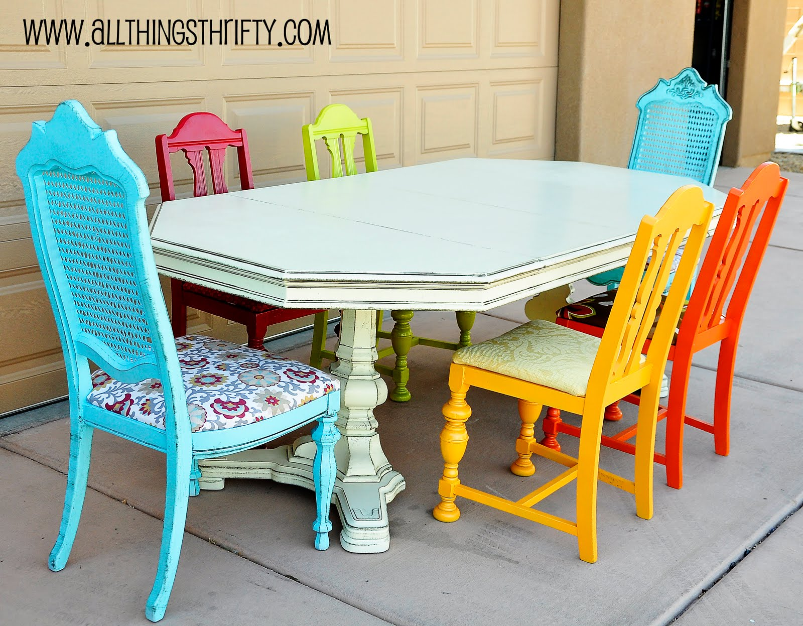 Mismatched Dining Chairs Tutorial Glazing Furniture Video Part 3