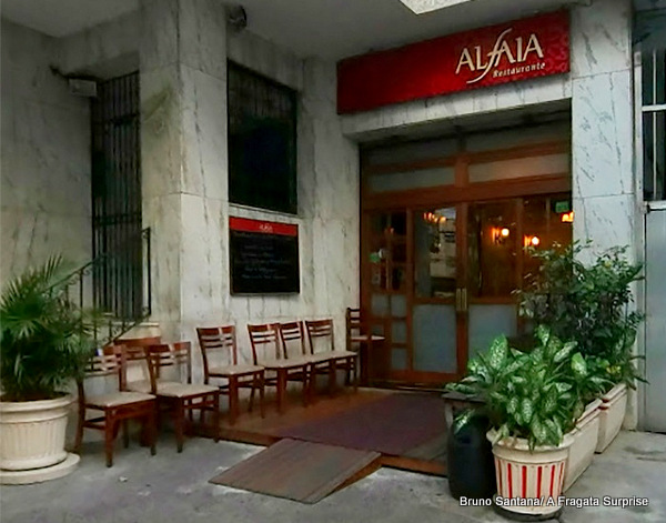 Restaurante português Alfaia, Rio de Janeiro