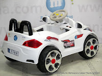 Junior YLQ3388 BMW Pro Racer Battery Toy Car M White
