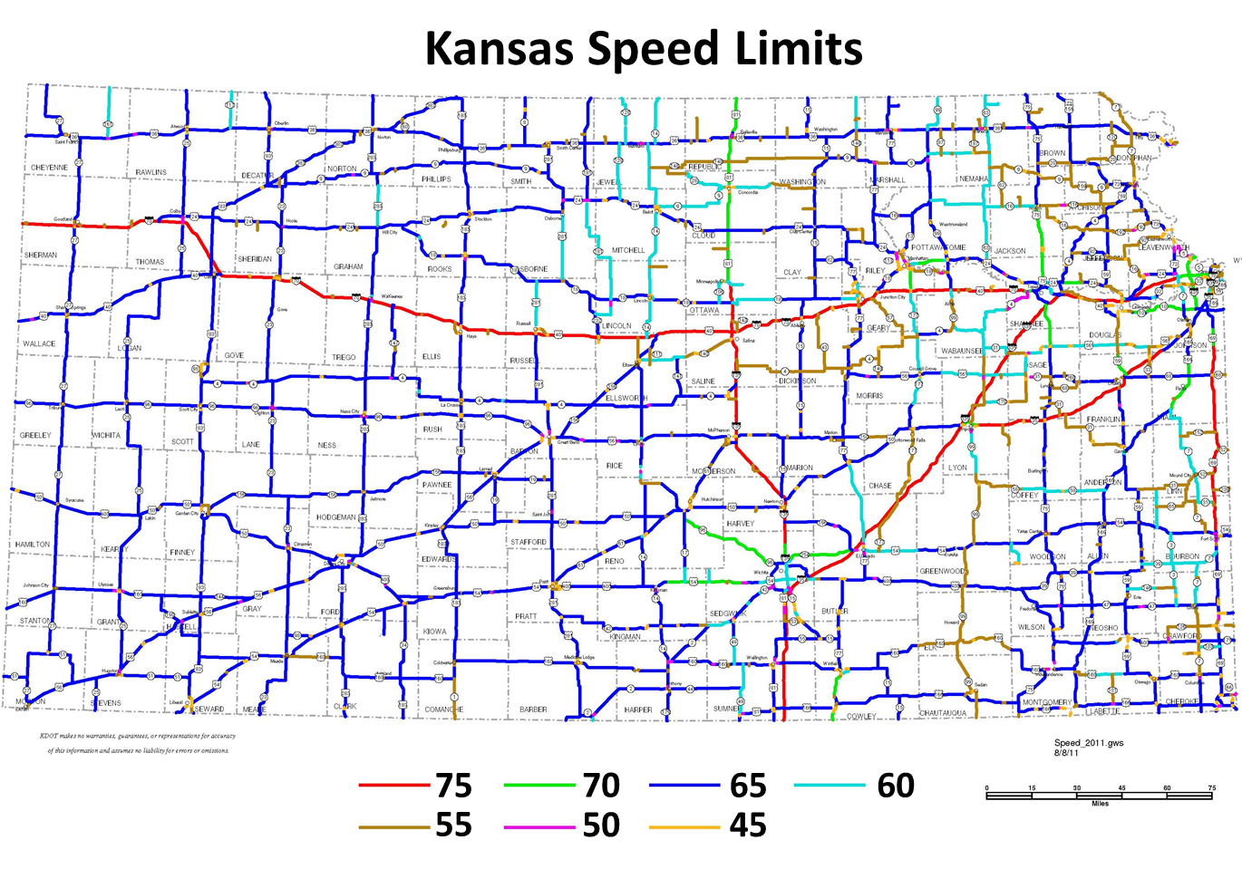 kansas speed limit map Kansas Transportation Technical Tuesday The Need For Speed Limits kansas speed limit map