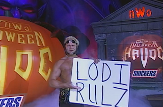 WCW Halloween Havoc 1998 - Lodi Rules - Lodi gets ready to face Saturn