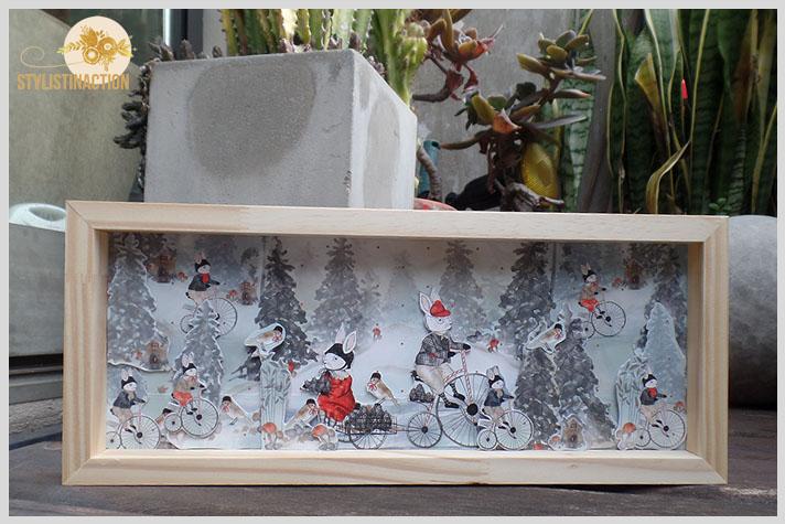 DIY cuadro infantil reutilizando materiales