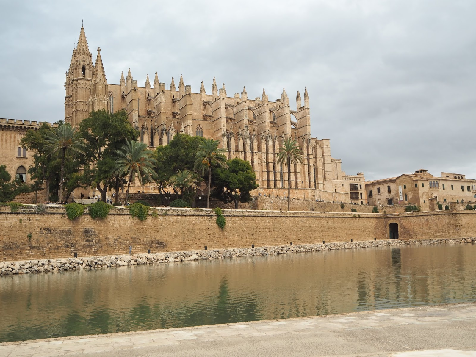 Palma de mallorca cathedral outside