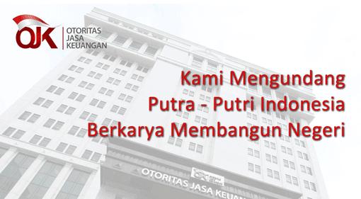 Lowongan Kerja Otoritas Jasa Keuangan Ojk Lowongan Kerja Medan Terbaru Tahun 2021