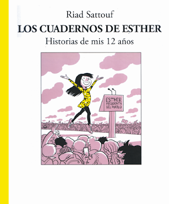 Los cuadernos de Esther de Riad Sattouf, historias de mis 12 años, edita Roca Editorial