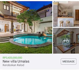 Villa Sale in Klecung