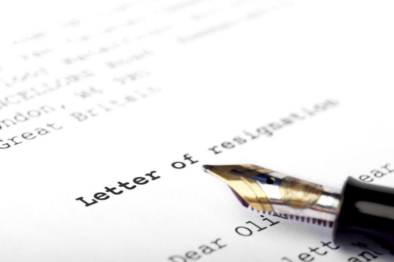 3 Contoh Surat Pengunduran Diri Kerja Surat Resign Yang