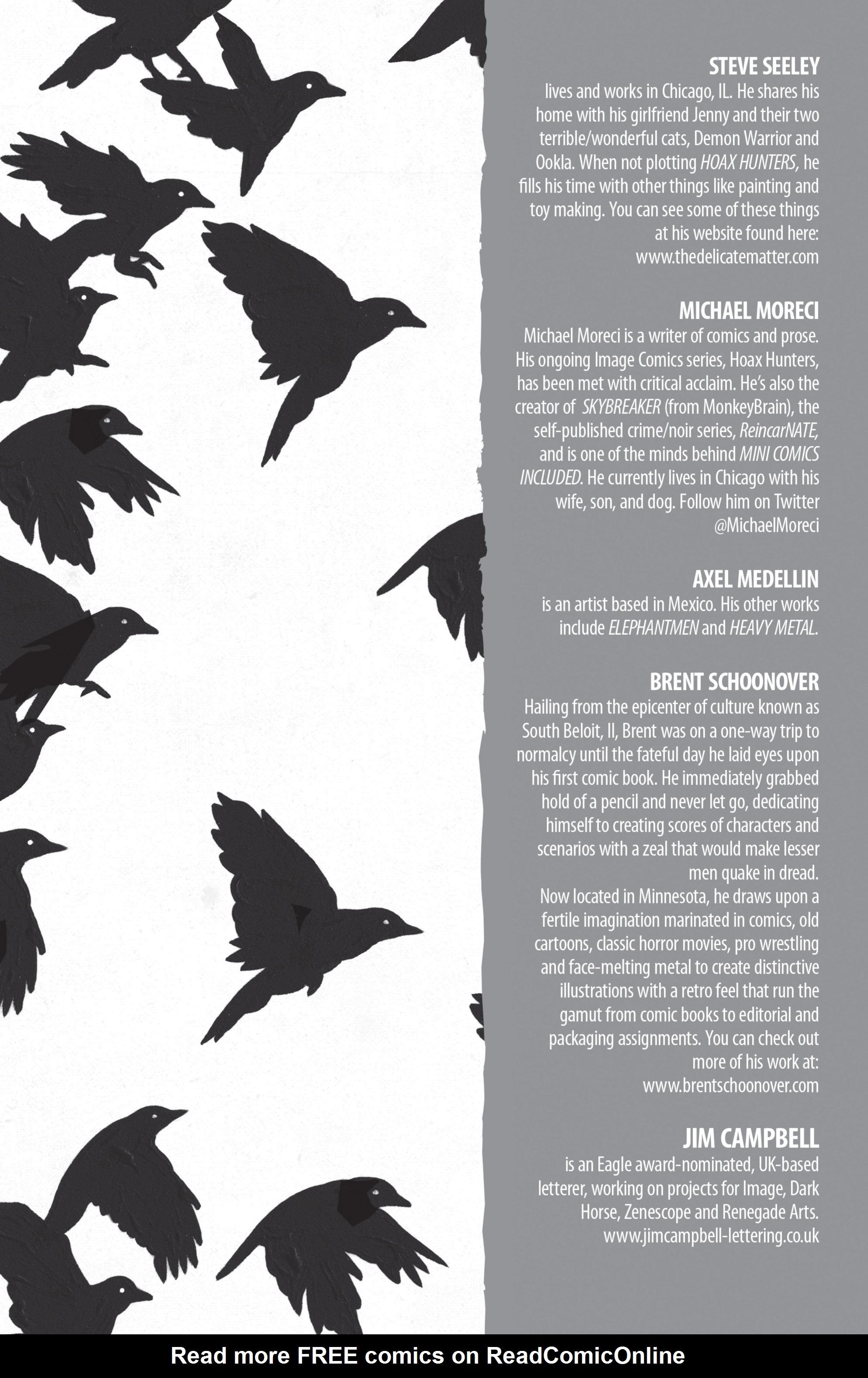 Read online Hoax Hunters (2012) comic -  Issue # TPB 2 - 115