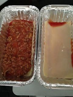 Lasagna, preparación 3