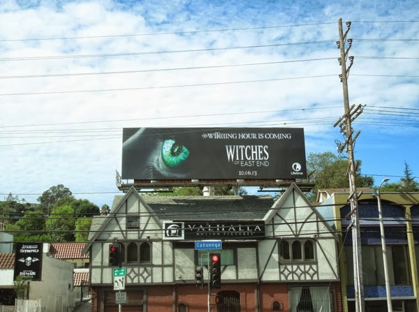 Witches of East End teaser billboard