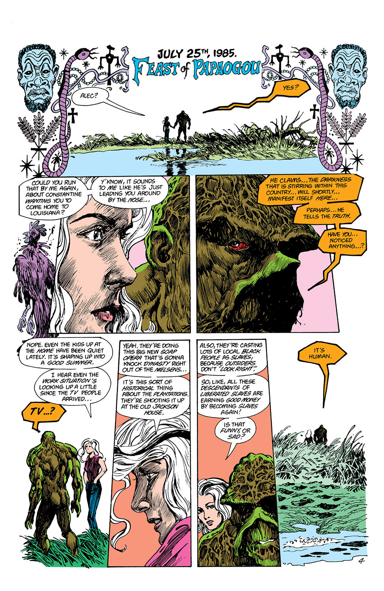 Swamp Thing (1982) Issue #41 #49 - English 5