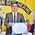 Ex- Governador David Almeida é reconhecido como cidadão de Beruri
