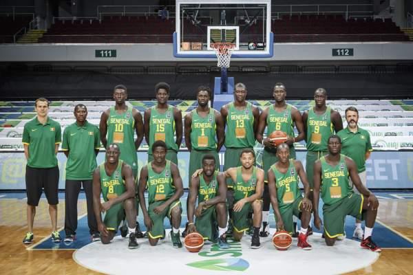 Senegal Men's Basketball Team Line-up (Roster). Image courtesy of FIBA.com