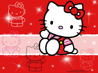 GAMBAR HELLO KITTY LUCU Merah Image Hello Kitty Terbaru