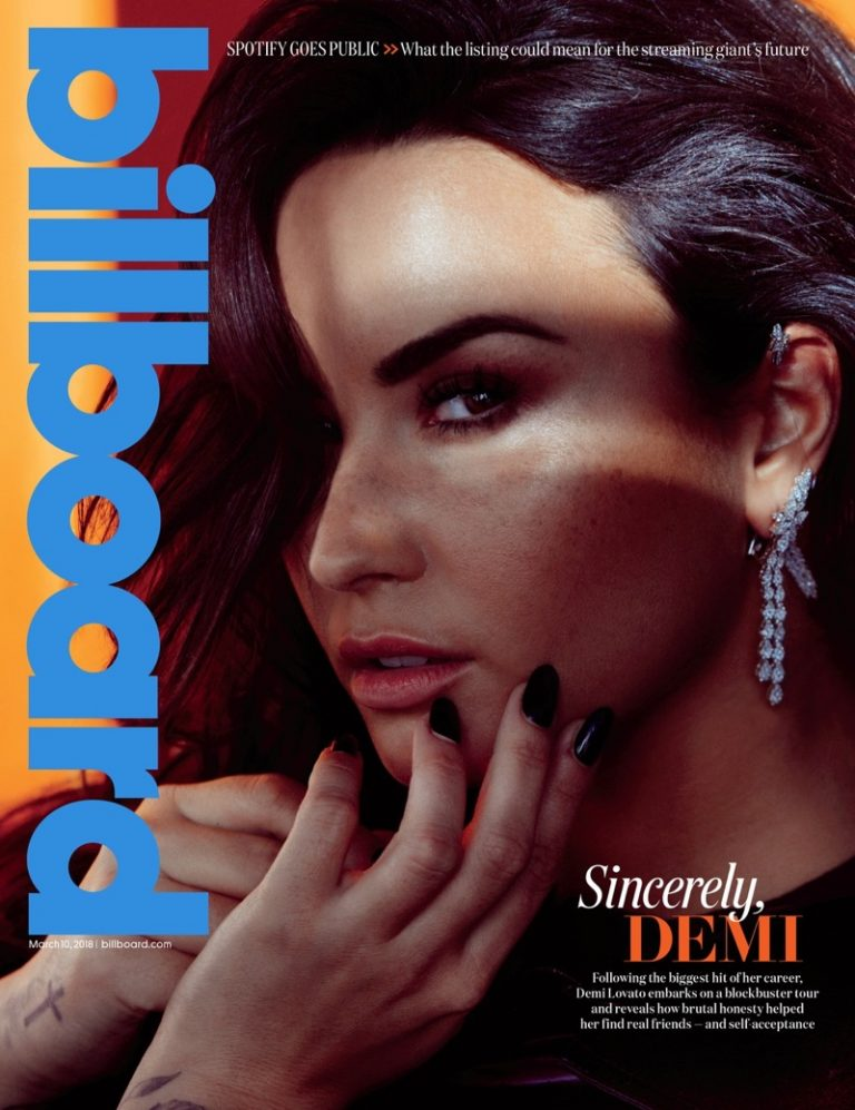 Demi Lovato for Billboard Magazine March 2018