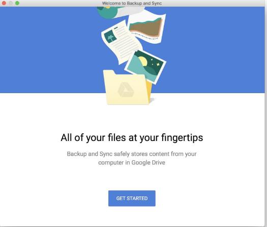 تحميل برنامج مزامنة الملفات للكمبيوتر مجانا Google Backup and Sync