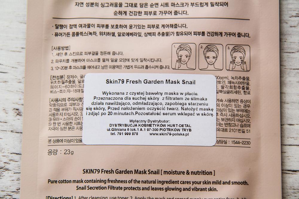 Skin79 Fresh Garden Snail Mask