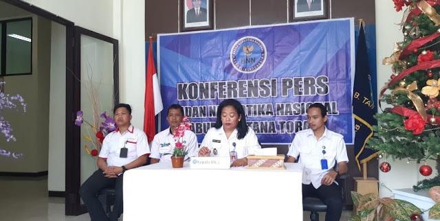 Sepanjang Tahun 2018, BNNK Tana Toraja Telah Rehabilitasi 68 Mantan Pengguna Narkotika
