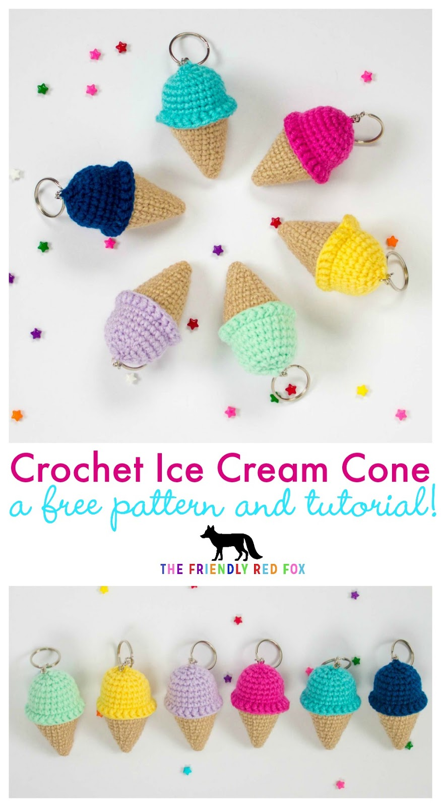 Free Amigurumi Crochet Pattern for Jazzy the Unicorn ⋆ Crochet ... | 1600x875