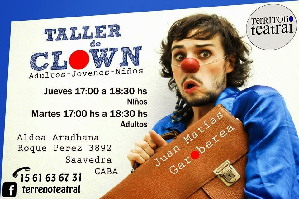 http://terrenoteatral.blogspot.com.ar/2014/02/taller-de-clown.html