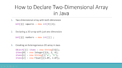 How to declare and Initialize 2D or two dimensional int and