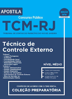 Apostila Concurso TCM do RJ - Técnico de Controle Externo