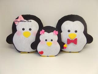 pinguins para nicho