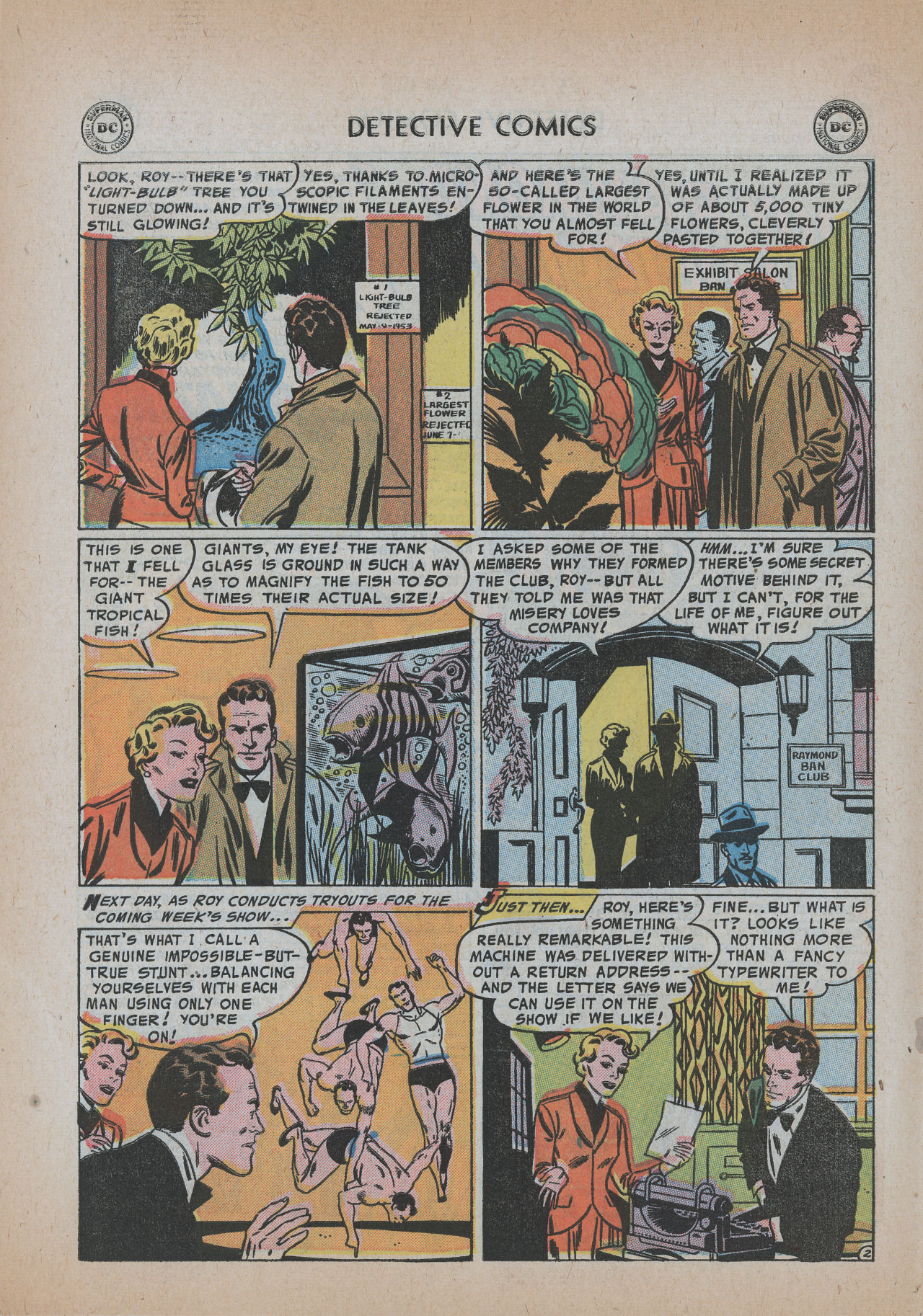 Read online Detective Comics (1937) comic -  Issue #219 - 28