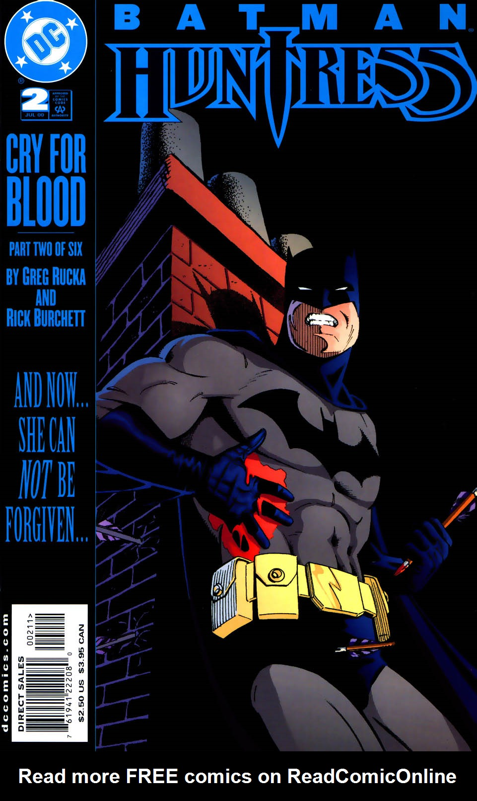 Read online Batman/Huntress: Cry for Blood comic -  Issue #2 - 1