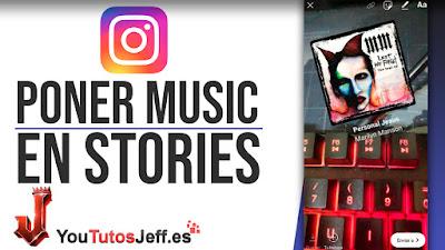 añadir musica en mis stories instagram