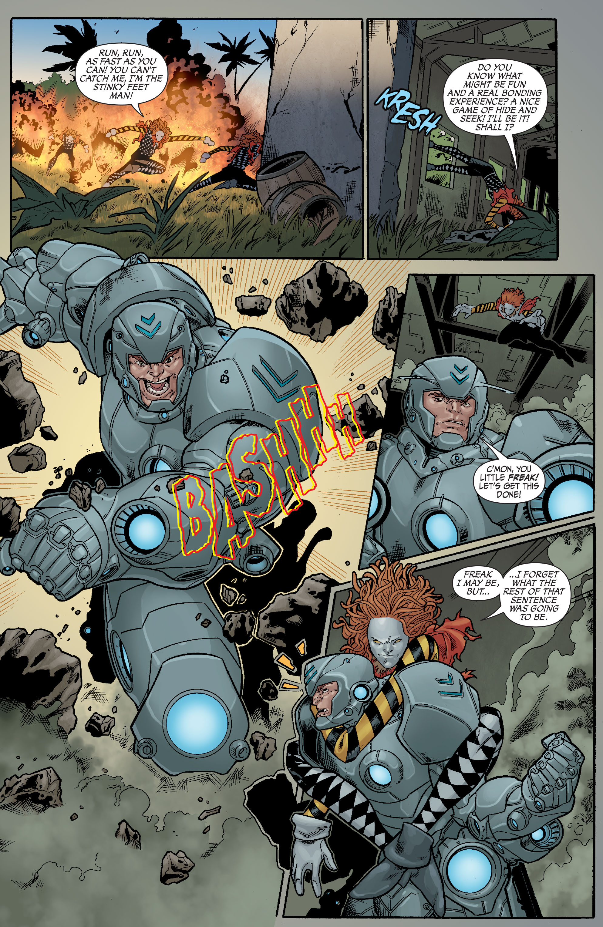 Read online Secret Six (2008) comic -  Issue #23 - 14